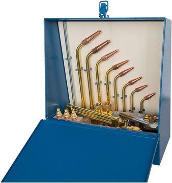 Image de Garniture complète pour soudage/coupage à trois tubes