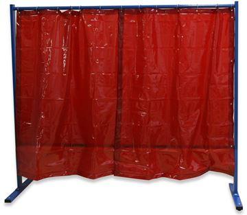 Bild von Schutzwand 1-teilig Folienvorhang