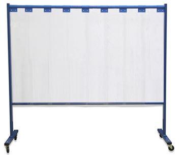 Image de Mur protecteur 1 partie de Rideau à lamelle épaisseur 2mm
